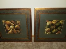 2 large pieces of wall art in Plainfield, Illinois