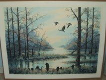 Geese Wilderness Lake Print Signed & Numbered in Lockport, Illinois