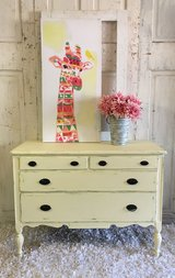 Antique Chest- Yellow in Kingwood, Texas