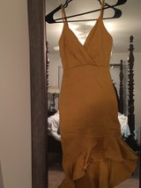 Mustard dress never worn in Hampton, Virginia