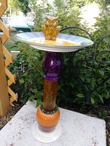 Upcycled Garden Decoration in Naperville, Illinois