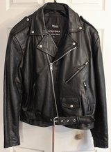 Mens XL Wilsons Leather Motorcycle Jacket in Leesville, Louisiana