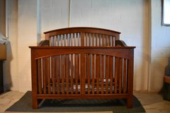 Baby Crib/Full Bed youngAmericababy Line by Stanley Furniture in Plainfield, Illinois