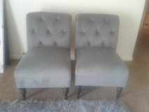 2 gray  chairs in Plainfield, Illinois