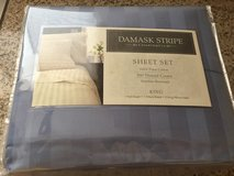 Blue Damask KING Sheet Set-New! in 29 Palms, California