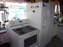 Maytag Refrigerator and Electric Stove in Fort Riley, Kansas