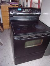 Maytag Black Electric Stove in Fort Riley, Kansas