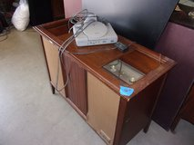 AM/FM Stereo and Record Player Cabinet in Fort Riley, Kansas