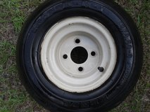 GOLF CART TIRE RIMS (4) in Beaufort, South Carolina