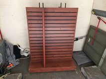 Commercial Merchandiser Slatwall Display Stand in Leesville, Louisiana