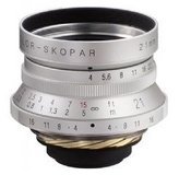 Voigtlander Color-Skopar 21mm f/4.0 Manual Focus Camera Lens - Silver in Okinawa, Japan