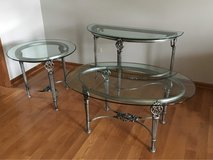 Glass Tables - set in Lockport, Illinois