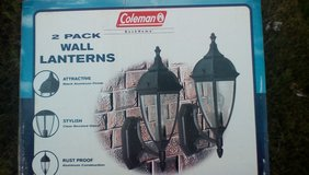 Coleman Outside  Lanterns ( New) 2 sets for house or garage in Quad Cities, Iowa