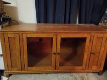Solid Wood Entertainment TV Stand Buffet Dresser Storage Cabinet Drawer 58x23x28 Rustic Country ... in Kingwood, Texas