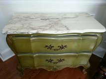 Vintage marble top chest in Perry, Georgia