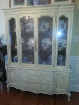Vintage Thomasville china cabinet in Perry, Georgia
