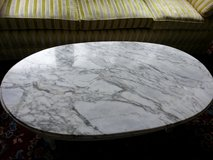 Vintage marble top coffee table in Perry, Georgia