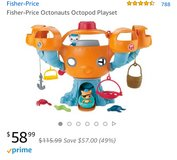 The Octopod playset with 2 extra figurines in Okinawa, Japan