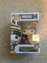 New in Box!  Funko POP #43 Aaron Rodgers Wave 3 in Naperville, Illinois