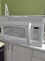 White Over The Range Microwave in Wilmington, North Carolina