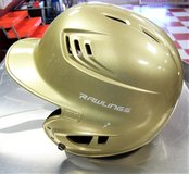 Gold Rawlings Batting Helmet in Fort Polk, Louisiana