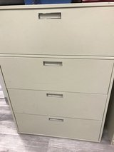 Lateral file cabinets. 4 drawer in Lockport, Illinois