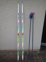 Fischer Cross Country Skis plus Alpina Boots (Size 10) in Wiesbaden, GE