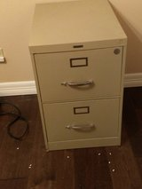 Metal File  Cabinet - Two Drawer in Kingwood, Texas