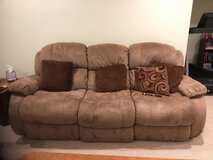 Power Reclining couch in New Lenox, Illinois
