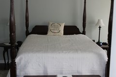 Ethan Allen Queen Bed and Dresser (price reduced) in Fort Campbell, Kentucky