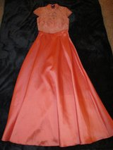 Jr. Girls Homecoming Prom Formal Dress size 1 Coral, 2 Pcs in Westmont, Illinois