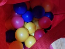 Bag of balls for ball pit in Travis AFB, California