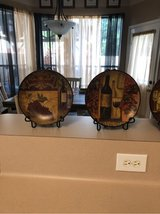 Set of 4 Wine Plate Decor in Kingwood, Texas