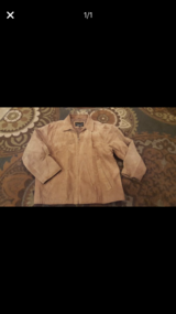 Men's size Large suede jacket in Bolingbrook, Illinois