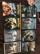 Harry Potter movie collection in Fort Leonard Wood, Missouri