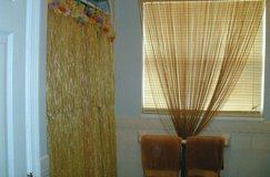 HAWAIAN GRASS SHOWER CURTAIN/ SET OF TOWELS in Beaufort, South Carolina