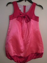 Christmas Holiday Party Dress, Red/Pink Satin Size 8/10 in Westmont, Illinois