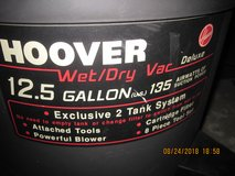HOOVER WET/DRY VAC DELUXE 12.5 GALLON in Fort Campbell, Kentucky