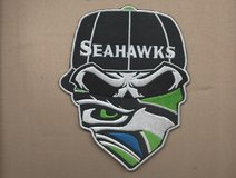 "SEATTLE SEAHAWKS  IRON ON PATCHES  ( 3 designs... approx. 4""X6"") *** NEW *** in Fort Lewis, Washington"