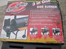 NEW CHAR GRILLER 3 in ONE SIDE BURNER in Fort Campbell, Kentucky