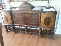 Antique sideboard in Perry, Georgia