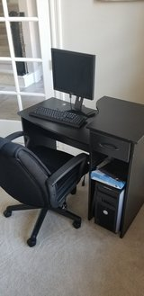 Computer Desk and Monitor in Spring, Texas