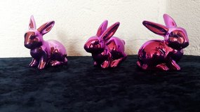 Pink Bunnies 3Pc Set in Ramstein, Germany