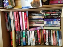 Assorted paper back books in Joliet, Illinois