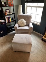 baby room rocking chair and ottoman in Elgin, Illinois