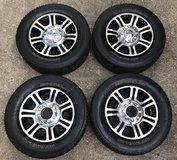 2015 Ford F250 Platinum OEM Wheels and Tires- reduced in The Woodlands, Texas