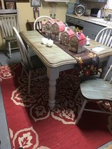 Table 5 chairs all wood in Conroe, Texas