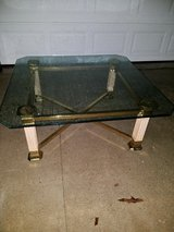 Ashley / Beveled Glass Square Coffee Table in Fort Campbell, Kentucky