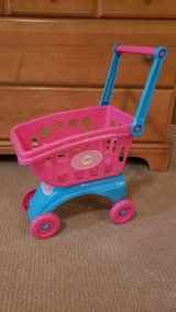 Toy shopping cart in Kingwood, Texas