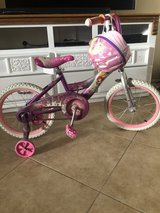 "Girl bike/ helmet 12"" in 29 Palms, California"